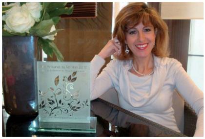Sally bennacer, chef d'entreprise