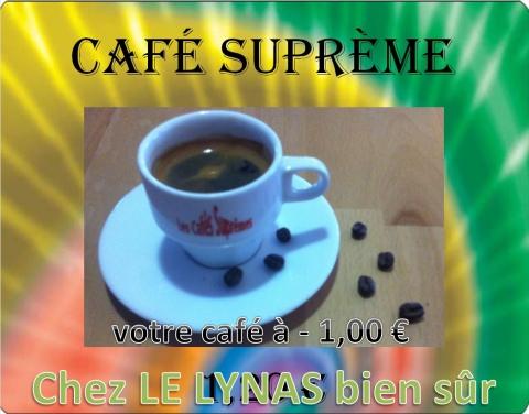 Votre café à 1.00 €