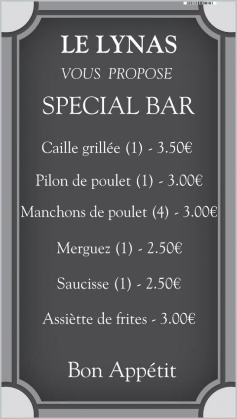 Spécial Bar