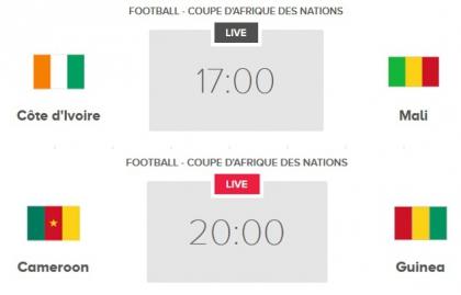 Match en direct, CAF