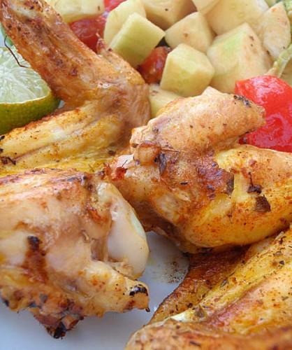 ailes de pouet,recettes,poulet grillés