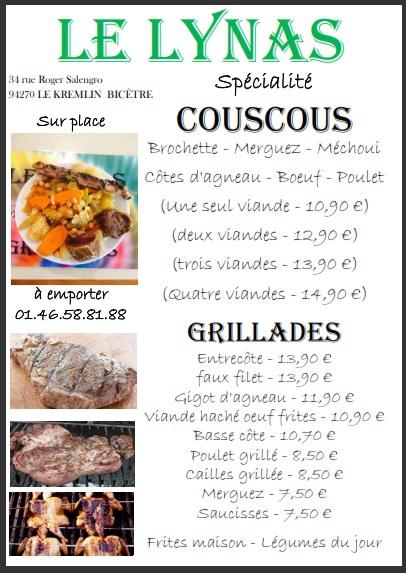 Couscous et Grill